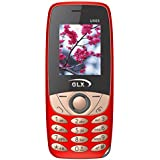 GLX(Powered By G'Five) U505 Red, 1.8 Inch Display,Dual Sim Basic Feature Mobile Phone With WIRELESS FM & 1 Year Manufacturer Warranty