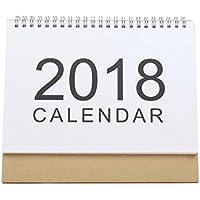 YLLY 2018 DIY Calendario Escritorio Calendario Planificador Memorando para Hogar/Oficina