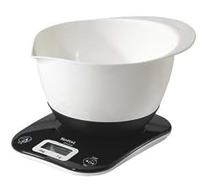 tefal bc4110v0 oasis balance de cuisine noir bol blanc. Black Bedroom Furniture Sets. Home Design Ideas