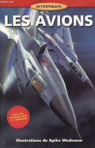 Children's Investigate Series : Avions par Margaret McPhee