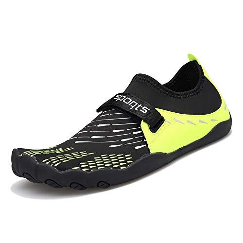 ZOEASHLEY Herren Damen Wandern Barfußschuhe Trekking Schuhe Sommer Ultraleicht Outdoor Fitnessschuhe mit Rutschfest Weiche Sohle Gr.36-46