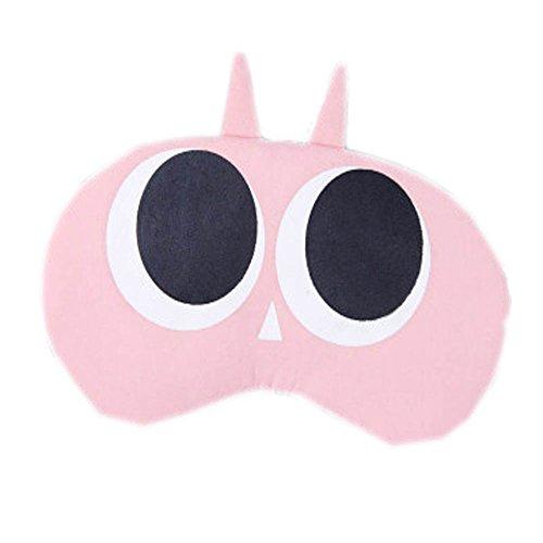 Schlafmaske Schlafenaugen-Abdeckung Super-Smooth Augenmaske für Reise, rosa