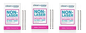 Clean & Easy One Touch Electrolysis Stylet Tips (3 Pack)