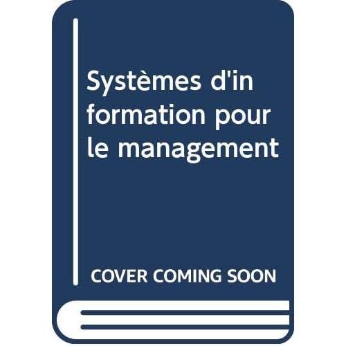 Systèmes d'information pour le management