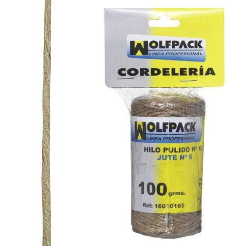 Wolfpack 16010165 Cuerda hilo pulido bº 6 bobina