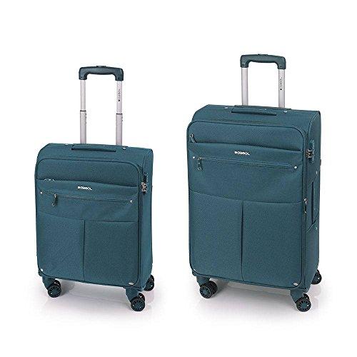 Gabol Pack de dos Maletas, 69 cm, 32 L / 65 L, Azul