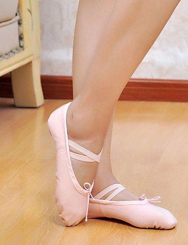 La toile de haute qualité Chaussures de Danse Ballet Slipper pour les femmes et les filles plus de couleurs Red