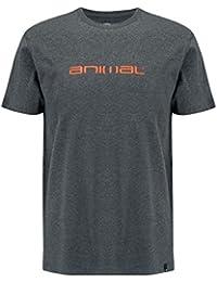 Animal Dark Charcoal MARL Marrly Slim Fit T-Shirt
