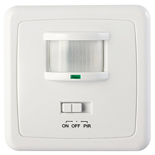 Garza Power - Detector Movimiento Infrarrojo Pared