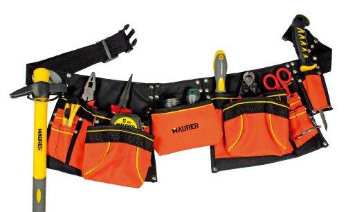 Maurer 2270145shuttering Tasche doppelte mit Gürtel (Nylon)