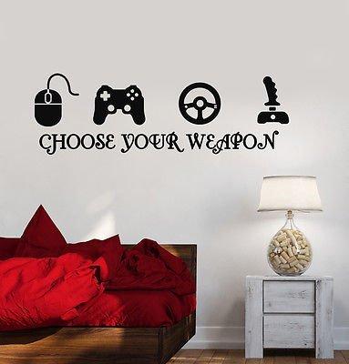 Adhesivo decorativo para pared de Joystick Game...