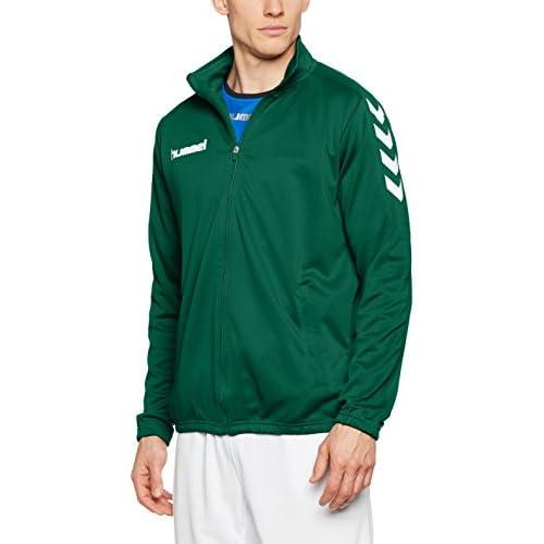 41YiVzt8RNL. SS500  - hummel Men's Polyester Core Jacket