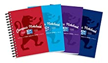Campus Notebook Laminated Card Cover Wirebound 140 Pages 90gsm A6 Ref 400013923 [Pack 10]