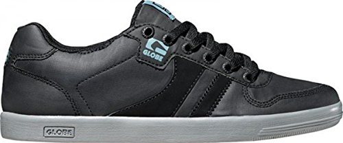 Globe Skateboard Schuhe Encore Generation Black Coated/Faded Indigo - Sneaker Skate Shoes Sneakers, Schuhgrösse:46.5, Farbe:Black Coated/Faded Indigo (Globe Skateboard Schuhe)