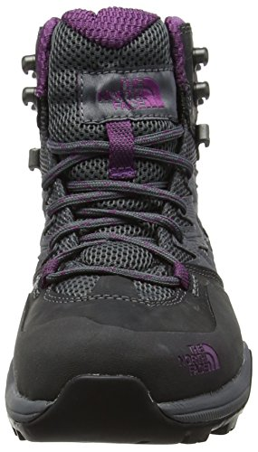 The North Face Hedgehog Hike Mid Gore-Tex, Scarpe da Arrampicata Alta Donna Grigio (Dark Shadow Grey/wood Violet)