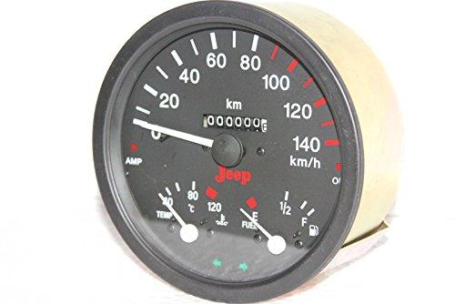 Enfield de compteur de vitesse Cum Température Mètre & Amp de carburant. Huile Indicateur Willys Jeep