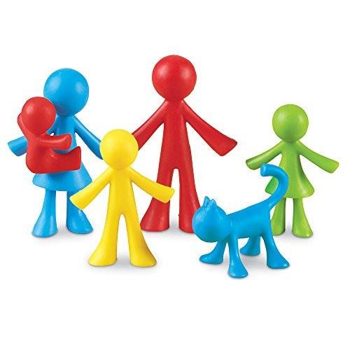 Learning Resources All About Me Spielfiguren Familie (24 Stück),