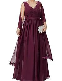 best cheap 9b7e4 0f66e Suchergebnis auf Amazon.de für: Abendkleid Übergröße - 54 ...