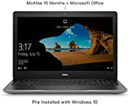 Dell Inspiron 3595 15.6-inch HD Laptop (A9-9425/4GB/1TB HDD/Windows 10 + Microsoft Office/Radeon R5 Integrated