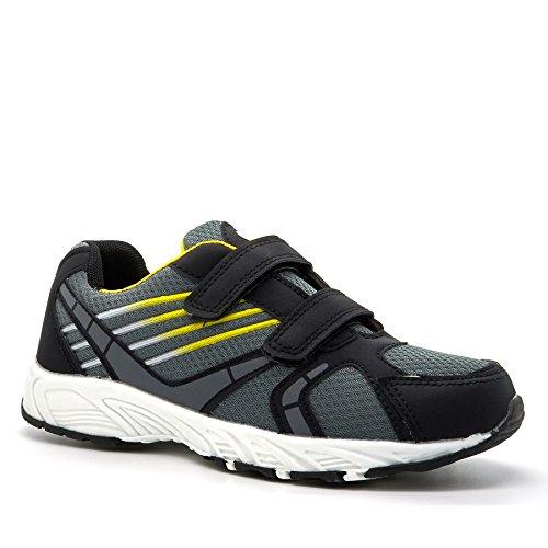 London Footwear ,  Jungen Durchgängies Plateau Sandalen mit Keilabsatz Grau