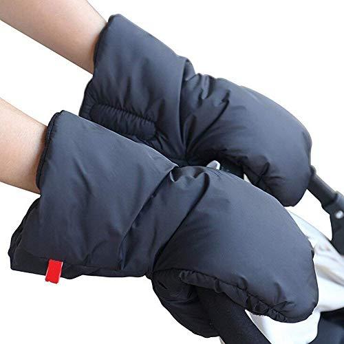 Kinderwagen Handwärmer Kinderwagen Handschuhe Handmuff für Kinderwagen Fingerwärmer Kinderwagen Muff Mit Fleece Winddicht Wasserdicht (MEHRWEG)