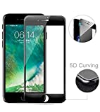 Superdealsfortheinfinity® Tempered Glass 5D Curved Edge 9H Hardness Tempered Glass Protector for Apple