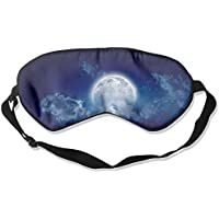 Sleep Eye Mask Moon Blue Lightweight Soft Blindfold Adjustable Head Strap Eyeshade Travel Eyepatch E19 preisvergleich bei billige-tabletten.eu