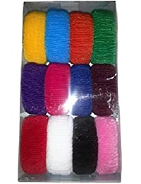 Shyam Hosiery Multicolor Hair Rubber Band_Pack Of 1 (12 Pcs)