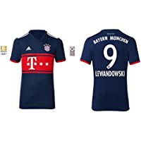 Trikot Kinder FC Bayern 2017-2018 Away BL - Lewandowski 9