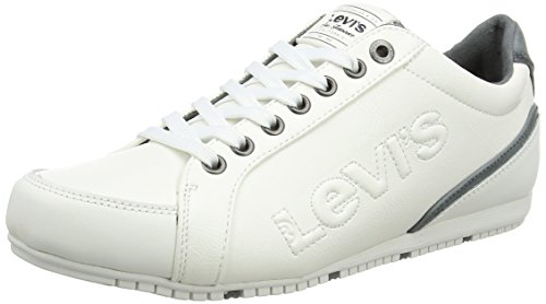 Levi's Morris, Baskets Basses Homme Blanc