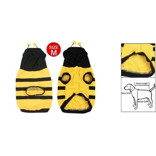 Imagen de toogoo r ropa abrigo del perro perrito abeja abejorro traje de disfraz atuendo para mascotas m alternativa