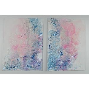 Original Kunstwerk Lara 30cm x40cm auf Papier