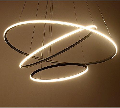 Saint Mossi® Exklusiv Entwurf Modern Kronleuchter Lüster Hängelampe Pendelleuchten LED Deckenleuchte Drei Stufe Leuchter Aussehen Einstellbar LED Lichtquelle Integriert