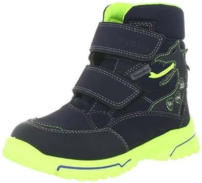 Ricosta Schuhe Stiefel Blinklicht Sympatex Weite weit Grisu see/neongelb 55-308-181, Größe:35