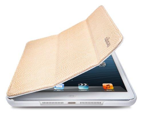 Kensington K39719EU Leder Cover Stand für Apple iPad Mini Coffee Snake