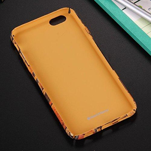 BING Für iPhone 6 Plus / 6s Plus Retro Style Pattern PC Schutzhülle BING ( SKU : IP6P1170E ) IP6P1170E