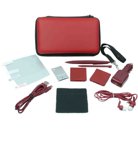 Crown 12-in-1 Deluxe Traveller Kit : Wine Red (DSi XL)