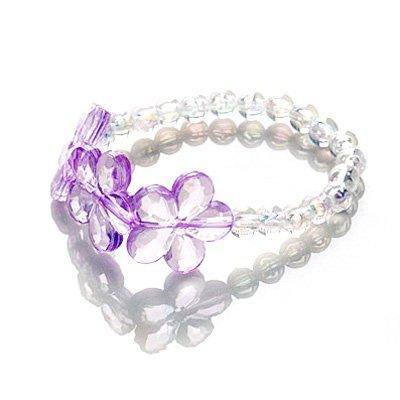 idin-bracelet-pour-les-enfants-perles-acryliques-blanches-aved-des-fleurs-pourpres-acryliques-diamet