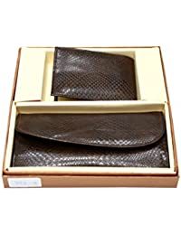 Vanalika Combo Of Gents Wallet Money Clip And Ladies Wallet(Gift Set Made Of Leatherite)