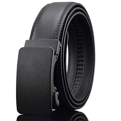 aoliaoyudonggha Men's Luxury Automatic Buckle Genune Leather Strap Belts Designers Brand -