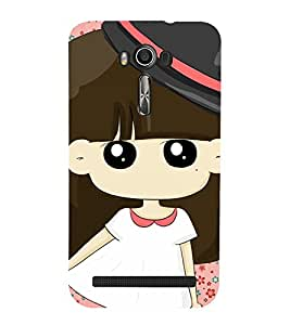 CUTE DOLL Designer Back Case Cover for Asus Zenfone 2 Laser ZE550KL::Asus Zenfone 2 Laser ZE550KL (5.5 Inches)