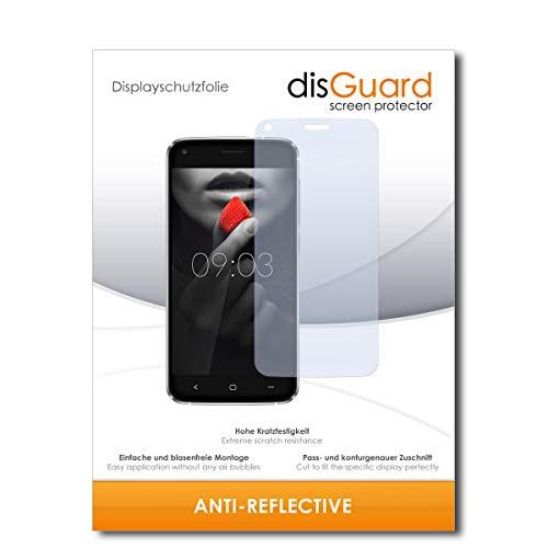 disGuard® Displayschutzfolie [Anti-Reflex] kompatibel mit Kiano Elegance 5.1 Pro [2 Stück] Entspiegelnd, Matt, Antireflektierend, Extrem Kratzfest, Anti-Fingerabdruck - Panzerglas Folie, Schutzfolie