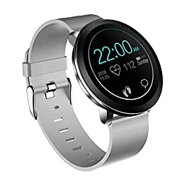 Features: Heart rate monitoring, Sleep monitoring Standard exercises functions (Pedometer、Calorie Consumption、Distance Calculation) Multiple sports modes: walking, running, cycling, swimming, badminton. Call reminder, SMS reminder,...