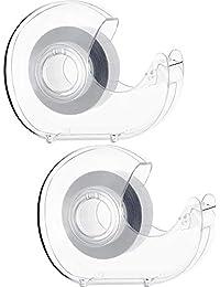 2 Stück Doppelseitig Klebende Mode Kleidung Band Dessous Band Blitz Körper Klebeband mit Spender