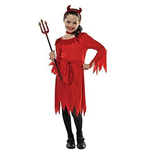 Kinderkostüm Teufel Kleinkind 4-6 - Halloween-kostüm Kleinkind Teufel