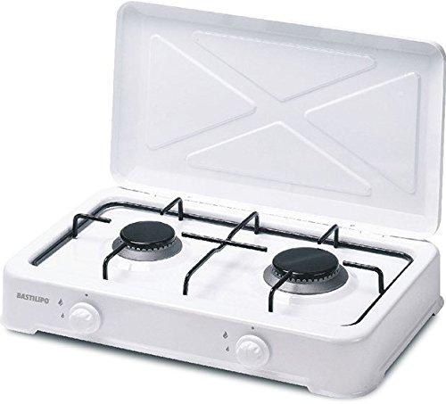 Gaskocher Butan oder Propan, 2 Kochplatten