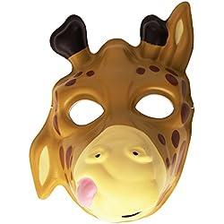 Wild Republic Grinimals, máscara careta de jirafa para niños y adultos (14280)