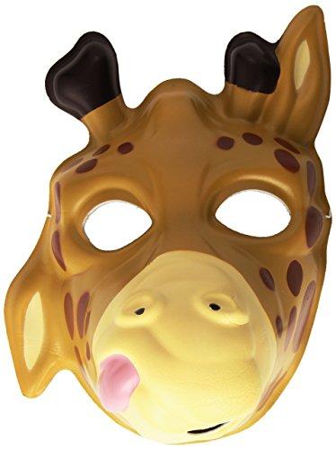 ApS 14280 - Grinimals Maske für Kinder und Erwachsene, Giraffe ()