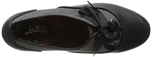 Joe Browns - Tweedy With A Twist, Scarpe col tacco Donna Black (A-Black)