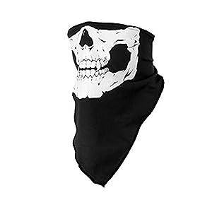 Hosaire Pasamontañas de Calavera Sin Costura Máscara Facial de Tubo de Poliéster
